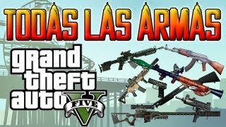 GTA V| TRUCO PARA TENER TODAS LAS ARMAS Y MUNICIÓN