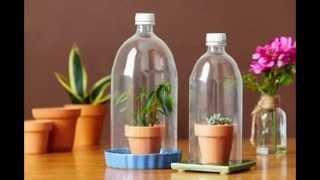 Kerajinan Tangan Dari Barang Bekas | Botol Plastik Bekas 1:52