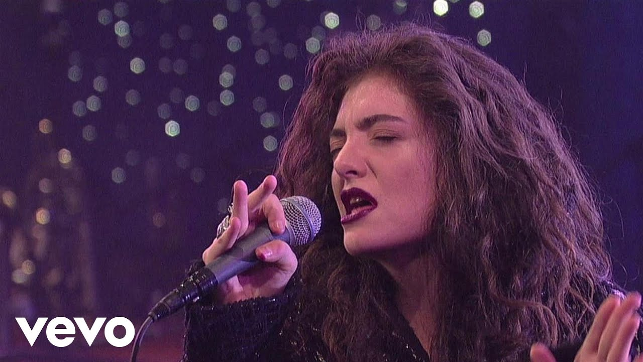 Lorde - White Teeth Teens (Live On Letterman)