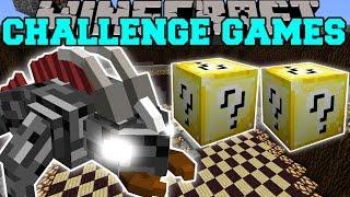 Minecraft: DUNGEON BEAST CHALLENGE GAMES - Lucky Block Mod - Modded Mini-Game