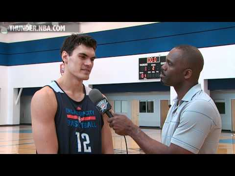 Thunder Video: 1-on-1 with Steven Adams