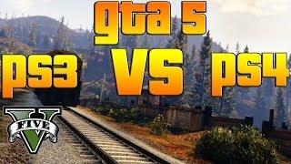 GTA V GRAFICOS PS3 VS PS4 Comparación De Graficos Y