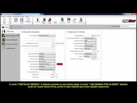 Configurações básicas para os módulos EFI-PROV2 E e EFI-LIGHTV2