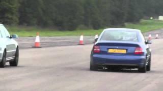 Modified Audi S4 vs Porsche 996 Turbo videos