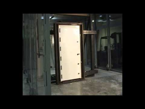 Chem-Pruf  Door Test for FEMA and Tornado