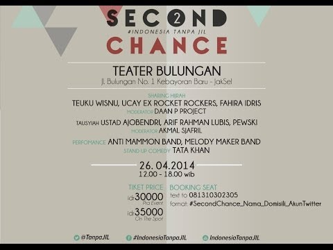 Teuku Wisnu for #SecondChance #IndonesiaTanpaJIL 26 April 2014