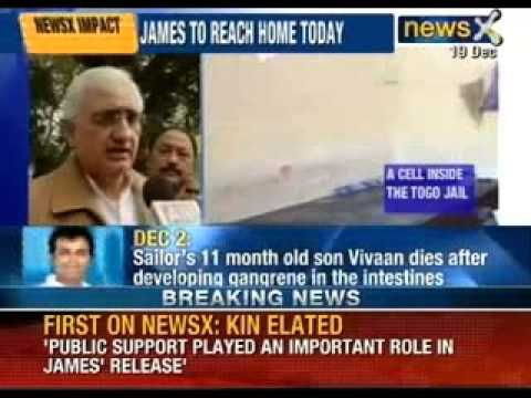 Salman Khurshid speaks to NewsX on Devyani Khobragade and Captain Sunil James case