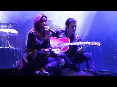 Demi Lovato Live: Believe in Me - Neon Lights Tour Soundcheck 02/09/14