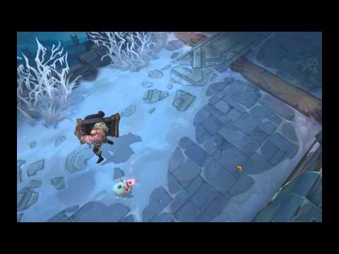 League of Legends PBE: Braum Poro Interaction