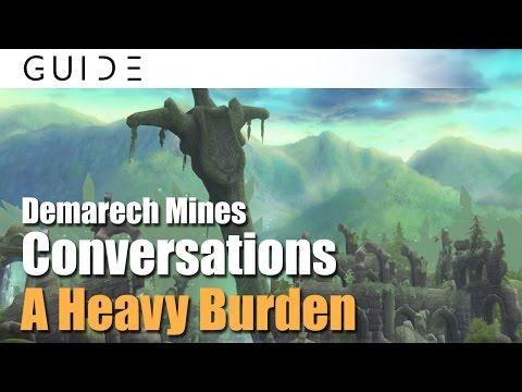Aura Kingdom Guide - Conversations Achievements - #111 A Heavy Burden in Demarech Mines [HD]
