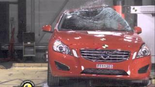Volvo V60 kaza testi - Euro NCAP 2012