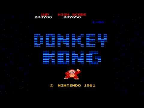 [HD] Donkey Kong 1981 Nintendo Mame Retro Arcade Games