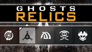 CoD Ghosts Extinction RELICS Guide  - Throttled Escape Acheivement  - Relic