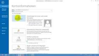 Outlook Weiteres Postfach Einbinden Mehrere