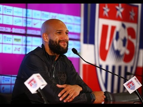 Tim Howard Crying During Post Game Interview on ESPN United States vs Belgium Howard Cries Review