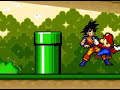 Goku Vs Super Mario Bros Z With Sound
