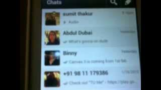 Android App Watch How To Use WhatsApp