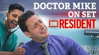 Doctor Mike On Set of The Resident! | Audition FAIL + Cast Interview
