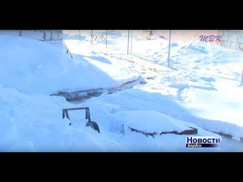 Дома и участки по улице Солнечная в Бердске затопило фекалиями