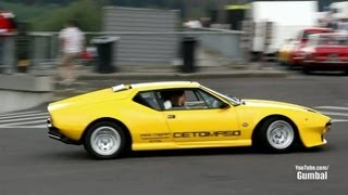De Tomaso Pantera - Exhaust Sounds!!