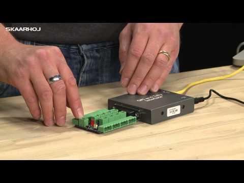ATEM GPI & Tally Interface Breakout Board