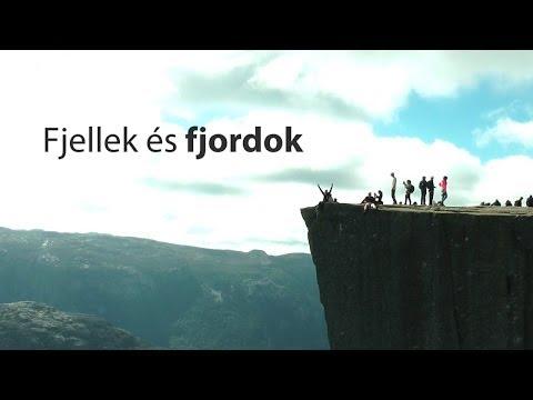 Fjellek és fjordok [Kerékpártúra, Norvégia utazás 2013]