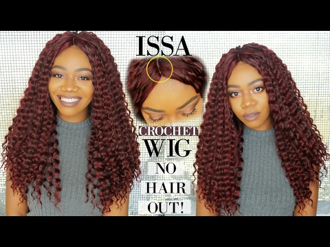 DIY Crochet Wig w/ a Natural Part | NO HAIR OUT |  MotownTress NEW Angels Braid Collection Deep Wave