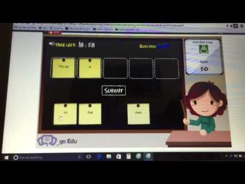 Giải tiếng anh trên mạng IOE lớp 4 vòng 17