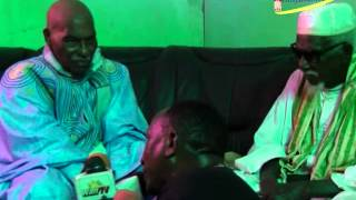 Visite de Abdoulaye Wade chez Serigne Sidy Mokhtar Mbacké à Tawfekh
