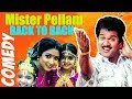 Mister Pellam | Movie Back To Back Comedy |  Rajendra Prasad, Aamani