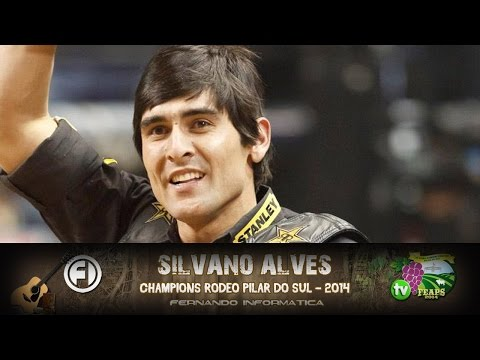 SILVANO ALVES - Champions Rodeo de Pilar do Sul - 2014