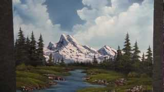 Paint With Kevin Hill Mountain By The River Wet On Wet