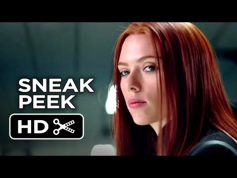 Captain America: The Winter Soldier SNEAK PEEK (2013) - Scarlett Johansson Movie HD