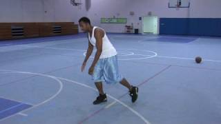 Improving Basketball Skills : Basketball Between-The-Legs