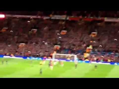 Robin Van Persie's penalty v Olympiakos