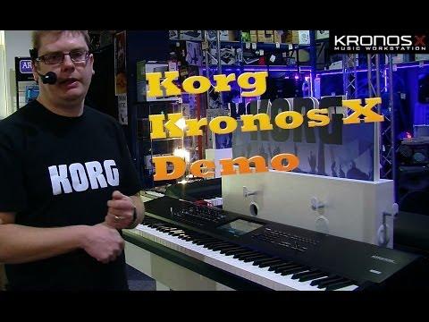 Korg Kronos X Workstation Keyboard Update