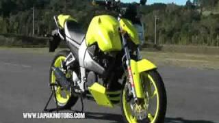 Yamaha Byson Monster Kuning FZ16 Test Ride Stuntman