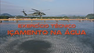 O Segundo Esquadrão do Décimo Grupo de Aviação (2°/10° GAV) - Esquadrão Pelicano e o Esquadrão Aeroterrestre de Salvamento (PARA-SAR), unidades militares da Força Aérea Brasileira (FAB), realizaram o Exercício Técnico (EXETEC) Içamento na Água, uma das modalidades de Busca e Salvamento (SAR, sigla em inglês para Search And Rescue).