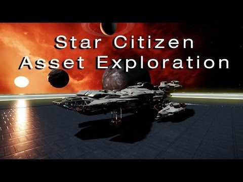 Star Citizen Asset Exploration! (AC 12.4) - incl. Mining Base, Asteroid Hangar, Space Assets +more