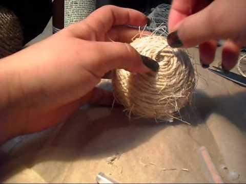 Como hacer bolas decorativas youtube - Como hacer bolas para decorar ...