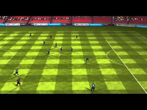 FIFA 14 Android - FC Barcelona VS Sassuolo