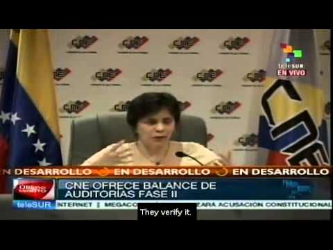 Venezuela's electoral council offers assessment audit's phase II