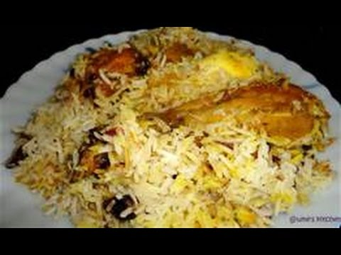 Chicken Dum Biriyani ,, an indian recipe