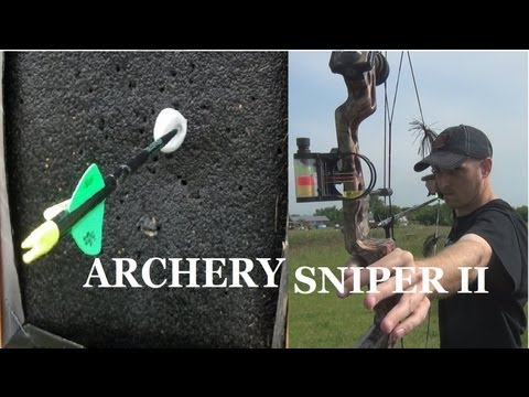 ARCHERY SNIPER II | SWINGING PING PONG BALL