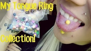 My Tongue Ring Collection! BreeAnn Barbie