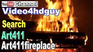 60 Minute HD Fireplace Screensaver Art4HD 1080 Video TV