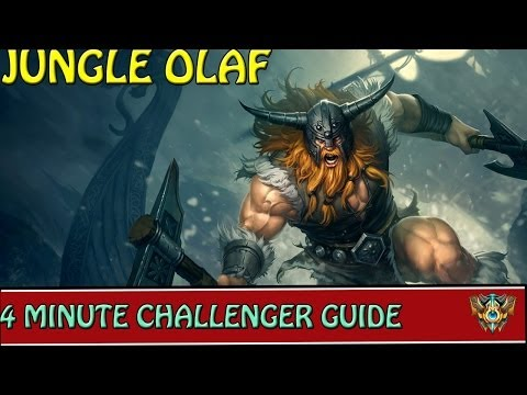 Olaf Build Guide Season 4 Olaf Jungle Guide Wip By | Party ...