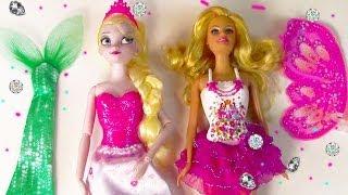 Disney Queen Elsa Mermaid Fairy Princess Barbie Fairytale