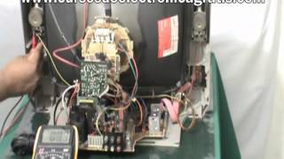 Reparación de un televisión