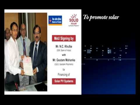 Gautam Polymers Leading Solar company In India